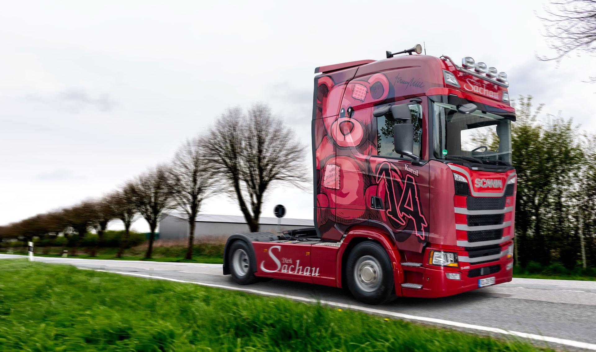 Spedition Sachau Hohenwestedt Scania 02